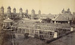 Lanka, a scene in the Kaiser Bagh, [Lucknow].
